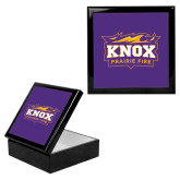Ebony Black Accessory Box With 6 x 6 Tile-Prairie Fire Logo