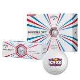 Callaway Supersoft Golf Balls 12/pkg-Prairie Fire Logo
