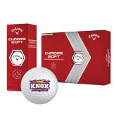 Callaway Chrome Soft Golf Balls 12/pkg-Prairie Fire Logo