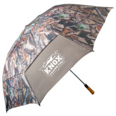 58 Inch Hunt Valley Camo Umbrella-Prairie Fire Logo