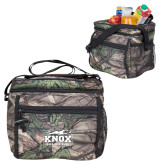 Big Buck Camo Junior Sport Cooler-Prairie Fire Logo