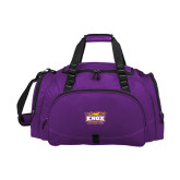 Challenger Team Purple Sport Bag-Prairie Fire Logo
