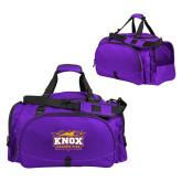 Challenger Team Purple Sport Bag-Prairie Fire Logo