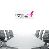 1 ft x 2 ft Fan WallSkinz-Susan G. Komen