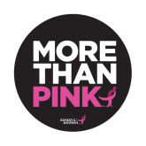 Small Decal-More Than Pink