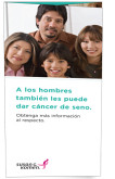 Men Can Get Breast Cancer Trifold in Spanish 50/pkg-
