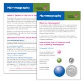 Mammography Card 250/pkg-