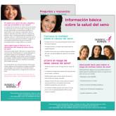 Breast Health Basics Flyer in Spanish 100/pkg-