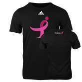 Adidas Black Logo T Shirt-Ribbon