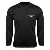 Syntrel Performance Black Longsleeve Shirt-Susan G. Komen 3-Day