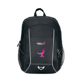 Atlas Black Computer Backpack-Ribbon