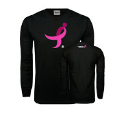 Black Long Sleeve TShirt-Ribbon