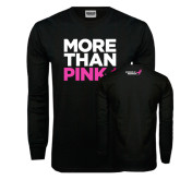 Black Long Sleeve TShirt-More Than Pink