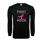 Black Long Sleeve TShirt-Fight Mode