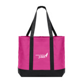 Tropical Pink/Dark Charcoal Day Tote-Susan G. Komen 3-Day