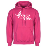 Fuchsia Fleece Hoodie-Susan G. Komen Race for the Cure