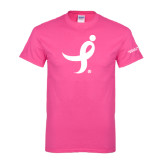Cyber Pink T Shirt-Ribbon