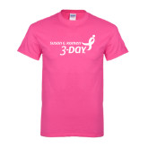 Hot Pink T Shirt-Susan G. Komen 3-Day