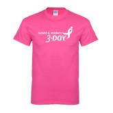 Cyber Pink T Shirt-Susan G. Komen 3-Day