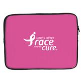 15 inch Neoprene Laptop Sleeve-Susan G. Komen Race for the Cure