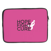 15 inch Neoprene Laptop Sleeve-Hope Fight Cure