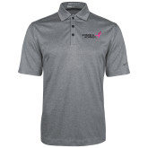 Nike Golf Dri Fit Charcoal Heather Polo-Susan G. Komen