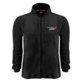 Fleece Full Zip Black Jacket-Susan G. Komen 3-Day
