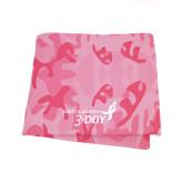 Pink Camo Blanket-Susan G. Komen 3-Day