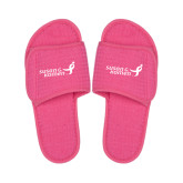 Hot Pink Waffle Slippers-Susan G. Komen