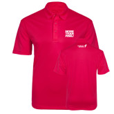 Pink Raspberry Silk Touch Performance Polo-More Than Pink