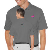 Callaway Opti Dri Steel Grey Chev Polo-Ribbon