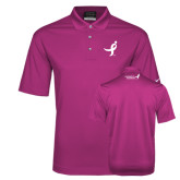 Nike Golf Dri Fit Fusion Pink Micro Pique Polo-Ribbon
