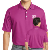 Nike Golf Dri Fit Fusion Pink Micro Pique Polo-More Than Pink