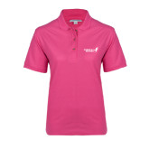 Ladies Easycare Tropical Pink Pique Polo-Susan G. Komen