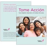 Take Charge Older Women and Breast Cancer Single Booklet in Spanish-
