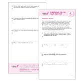 Ask the Doctor Treatment Choices Single Sheet-
