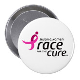 2.25 inch Round Button-Susan G. Komen Race for the Cure