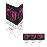 Dine Out For The Cure Table Tent-