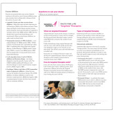 Facts for Life Targeted Therapies Single Sheet-