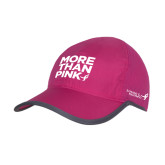 Pink/Charcoal Trail Blaze Cap-More Than Pink