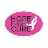 Small Magnet-Hope Fight Cure, 6 in wide