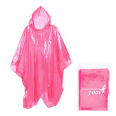 Disposable Rain Poncho-