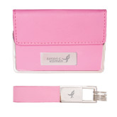 Business Card Case and Key Ring Set Pink-Susan G. Komen