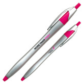 Dart Silver/Fuchsia Pen-Be More Than Pink