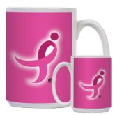 Full Color White Mug 15oz-Ribbon