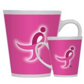12oz Ceramic Latte Mug-Ribbon
