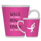 12oz Ceramic Latte Mug-Walk Run Finish