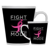 Full Color Latte Mug 12oz-Fight Mode
