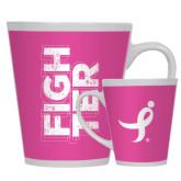 Full Color Latte Mug 12oz-Fighter