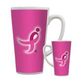 Full Color Latte Mug 17oz-Ribbon